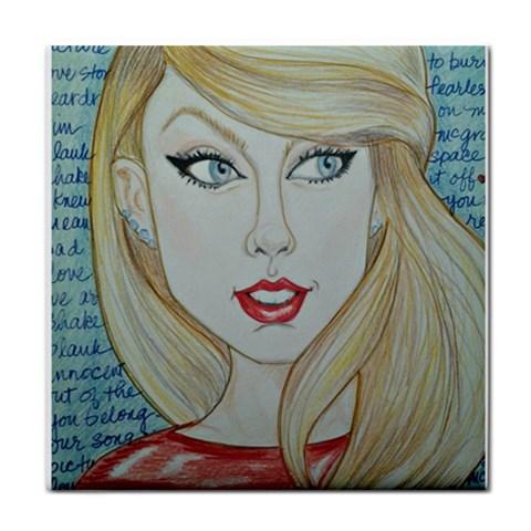 By Leslie Mehl   Tile Coaster   Bd7kp1f84c20   Www Artscow Com Front