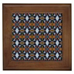 Stones Pattern Framed Tiles