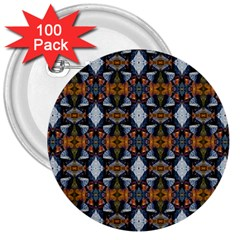 Stones Pattern 3  Buttons (100 Pack)  by Costasonlineshop