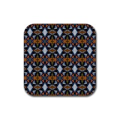 Stones Pattern Rubber Square Coaster (4 Pack)  by Costasonlineshop