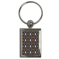 Stones Pattern Key Chains (rectangle)