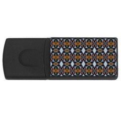 Stones Pattern Usb Flash Drive Rectangular (4 Gb)  by Costasonlineshop