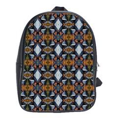 Stones Pattern School Bags(large)