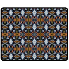 Stones Pattern Fleece Blanket (medium)  by Costasonlineshop
