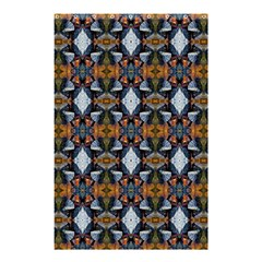 Stones Pattern Shower Curtain 48  X 72  (small)  by Costasonlineshop