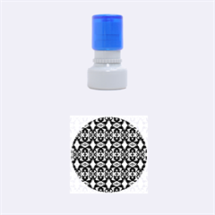 Stones Pattern Rubber Round Stamps (small) by Costasonlineshop