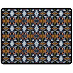 Stones Pattern Double Sided Fleece Blanket (medium)  by Costasonlineshop