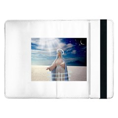 Our Mother Mary Samsung Galaxy Tab Pro 12.2  Flip Case by jackiepopp