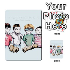Two For Flinching Multi Purpose Cards (rectangle)