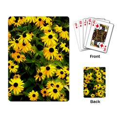 Walking Through Sunshine Playing Cards Single Design by dawnsiegler