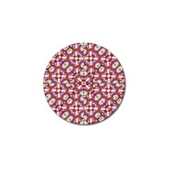 Boho Check Golf Ball Marker (10 Pack) by dflcprints