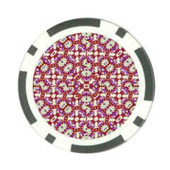 Boho Check Poker Chip Card Guards by dflcprints