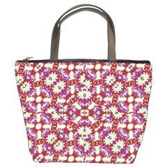 Boho Check Bucket Bags by dflcprints