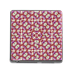 Boho Check Memory Card Reader (square) by dflcprints