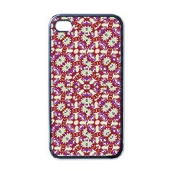 Boho Check Apple Iphone 4 Case (black) by dflcprints