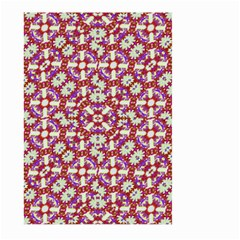 Boho Check Large Garden Flag (two Sides) by dflcprints
