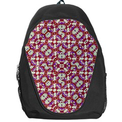 Boho Check Backpack Bag by dflcprints