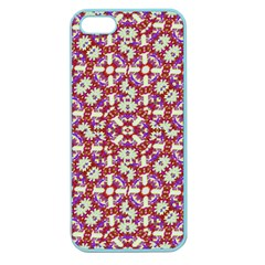 Boho Check Apple Seamless Iphone 5 Case (color) by dflcprints