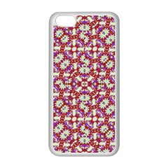 Boho Check Apple Iphone 5c Seamless Case (white) by dflcprints