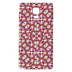 Boho Check Galaxy Note 4 Back Case by dflcprints