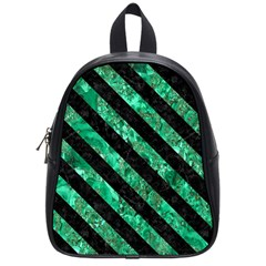 STR3 BK-GR MARBLE (R) School Bags (Small)  by trendistuff