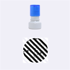 STR3 BK-GR MARBLE (R) Rubber Round Stamps (Small) by trendistuff