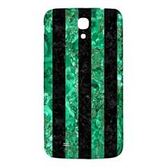 Stripes1 Black Marble & Green Marble Samsung Galaxy Mega I9200 Hardshell Back Case by trendistuff