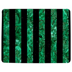 Stripes1 Black Marble & Green Marble Jigsaw Puzzle Photo Stand (rectangular) by trendistuff