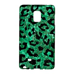 Skin5 Black Marble & Green Marble Samsung Galaxy Note Edge Hardshell Case
