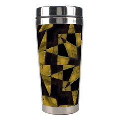 Bold Geometric Stainless Steel Travel Tumblers by dflcprints