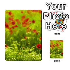 Poppy I Multi Purpose Cards (rectangle)