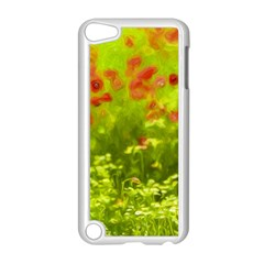 Poppy I Apple Ipod Touch 5 Case (white) by colorfulartwork