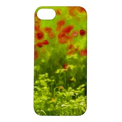 Poppy I Apple Iphone 5s/ Se Hardshell Case by colorfulartwork