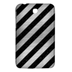 STR3 BK MARBLE SILVER Samsung Galaxy Tab 3 (7 ) P3200 Hardshell Case  by trendistuff