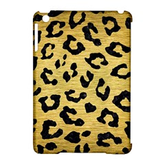 Skin5 Black Marble & Gold Brushed Metal Apple Ipad Mini Hardshell Case (compatible With Smart Cover) by trendistuff
