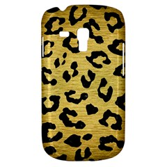 Skin5 Black Marble & Gold Brushed Metal Samsung Galaxy S3 Mini I8190 Hardshell Case by trendistuff
