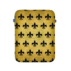 Royal1 Black Marble & Gold Brushed Metal Apple Ipad 2/3/4 Protective Soft Case by trendistuff