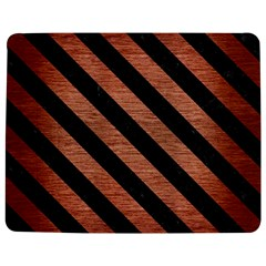 Stripes3 Black Marble & Copper Brushed Metal (r) Jigsaw Puzzle Photo Stand (rectangular) by trendistuff