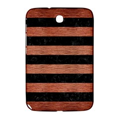 Stripes2 Black Marble & Copper Brushed Metal Samsung Galaxy Note 8 0 N5100 Hardshell Case  by trendistuff