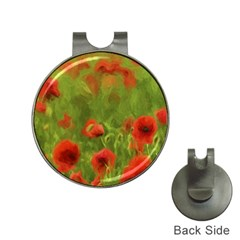 Poppy Ii   Wonderful Summer Feelings Hat Clips With Golf Markers by colorfulartwork