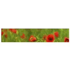 Poppy Ii   Wonderful Summer Feelings Flano Scarf (small)