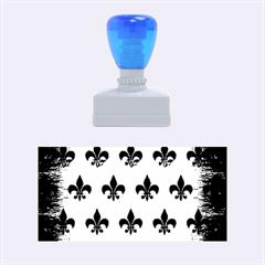 Ryl1 Bk Marble Copper Rubber Stamps (medium)  by trendistuff