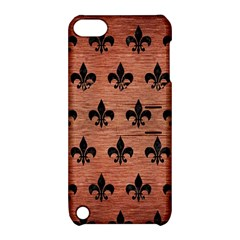 Ryl1 Bk Marble Copper Apple Ipod Touch 5 Hardshell Case With Stand by trendistuff