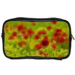 Poppy Iii Toiletries Bags 2 Side by colorfulartwork