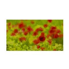 Poppy Iii Satin Wrap by colorfulartwork