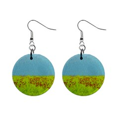 Poppy Iv Mini Button Earrings by colorfulartwork
