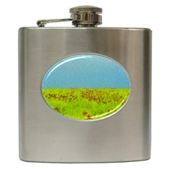 Poppy Iv Hip Flask (6 Oz) by colorfulartwork