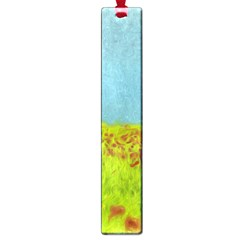 Poppy Iv Large Book Marks by colorfulartwork