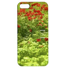 Poppy V Apple Iphone 5 Hardshell Case With Stand by colorfulartwork