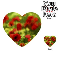 Poppy Vi Multi Purpose Cards (heart)